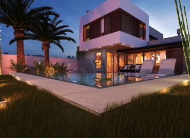 Casa alto padrão com piscina